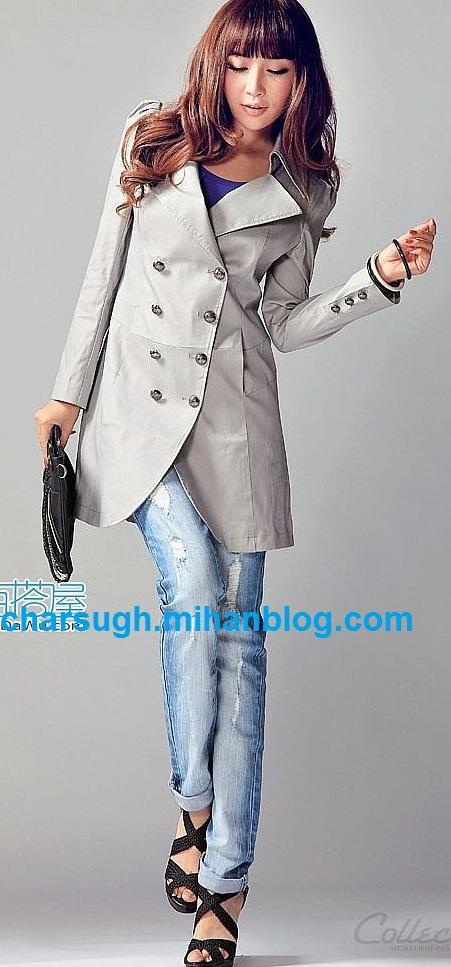 دکمه ریلی مانتو دوخت لباس سنتی مهتاب - مدل لباس و مانتو 5